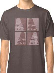 Daleks in negatives - brown Classic T-Shirt