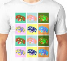 Dachshund Pop Art Unisex T-Shirt