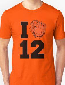 I Glove 12 Unisex T-Shirt