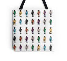 8-Bit Ninjas Tote Bag
