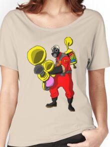 pixel pyro 1 (fanart) Women's Relaxed Fit T-Shirt