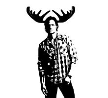 Sam Moose Winchester by stormthief19