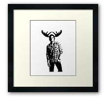 Sam Moose Winchester Framed Print