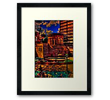 To their eternal glory Framed Print