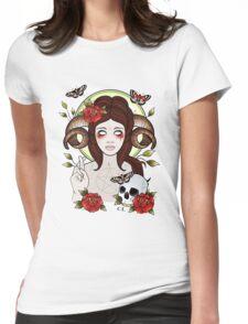 Pagan Goddess Womens Fitted T-Shirt