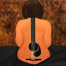 Guitarwoman  by Susan van Zyl