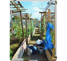 Community Garden iPad Case/Skin