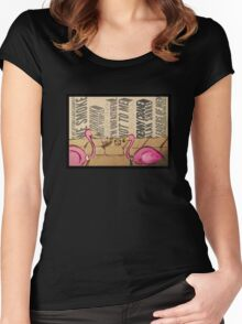 Leaders of men Women's Fitted Scoop T-Shirt