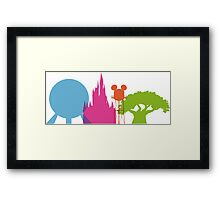 The Four Icons Framed Print