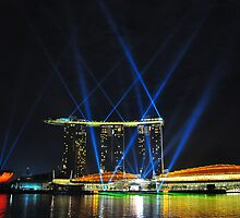 Marina Bay Sands - Singapore by Leone Fabre