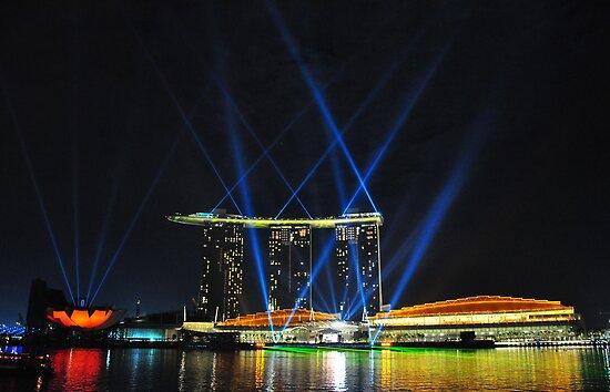 Marina Bay Sands - Singapore by Leone