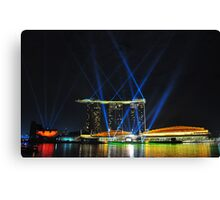 Marina Bay Sands - Singapore Canvas Print
