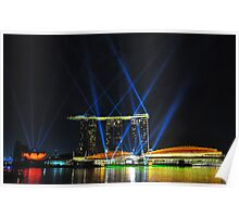 Marina Bay Sands - Singapore Poster