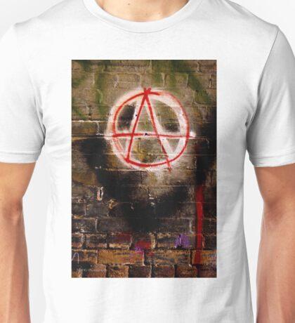 Anarchy Graffiti - Brisbane CBD Unisex T-Shirt