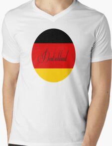 Deutschland fur frau Mens V-Neck T-Shirt