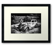 Old car Framed Print