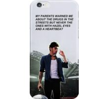 """Hazel eyes and a heartbeat"" iPhone Case/Skin"