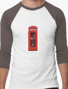 Phonebox Men's Baseball ¾ T-Shirt