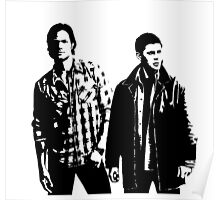 Sam and Dean Winchester Supernatural Poster