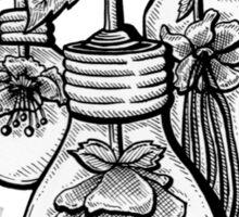 Floral Bulbs Sticker