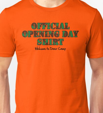 Official Opening Day Shirt Unisex T-Shirt