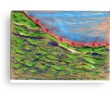 Free pastel work Canvas Print