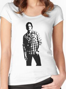 Sam Winchester Supernatural Women's Fitted Scoop T-Shirt