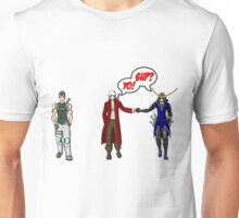 Chris, Dante and Date. the Reuben Langdon Collection Unisex T-Shirt
