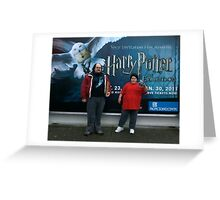 Harry Potter Exhibit Greeting Card