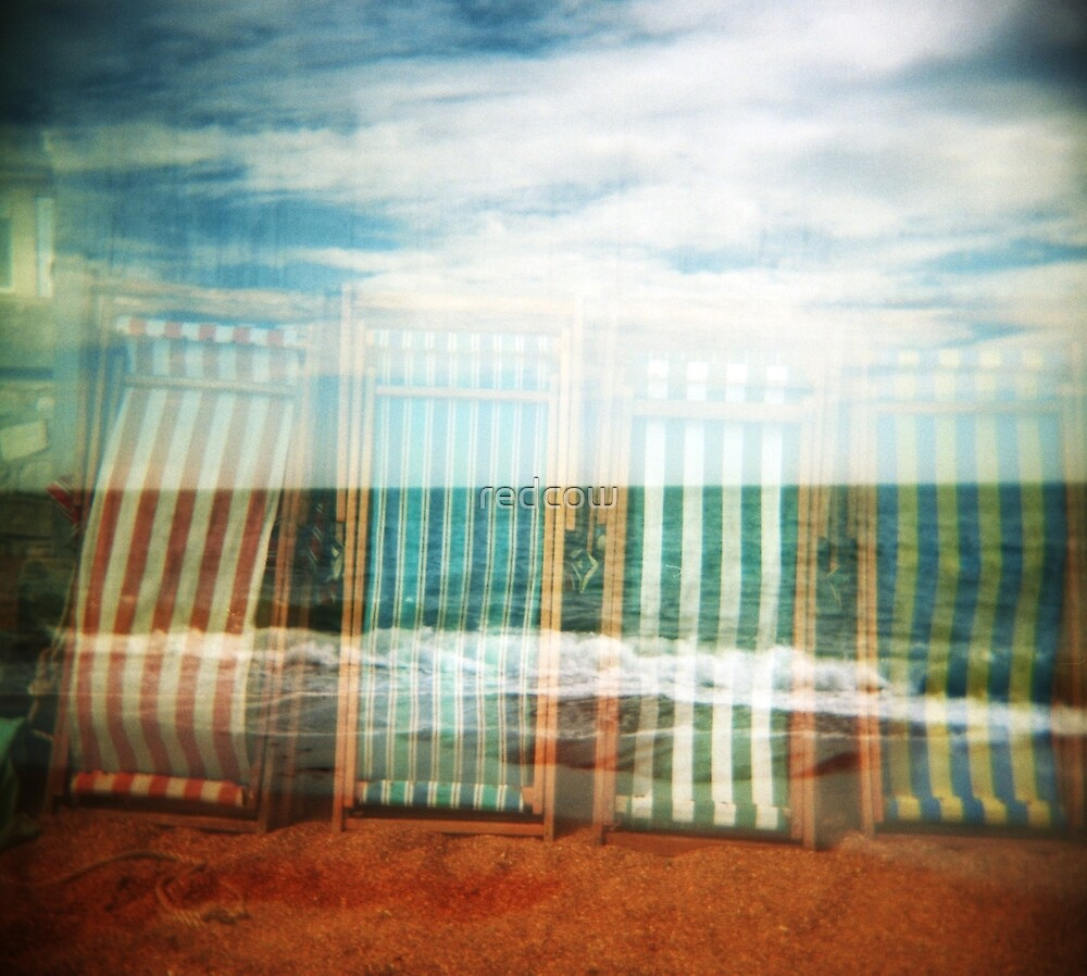 I do like to be beside the holga seaside by redcow