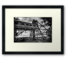 The Mine  Framed Print