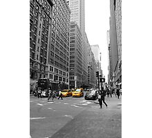 NYC Black and White Photographic Print