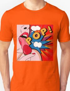 pop art  Unisex T-Shirt