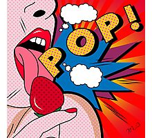 pop art  Photographic Print