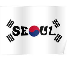 South Korea - Seoul Poster