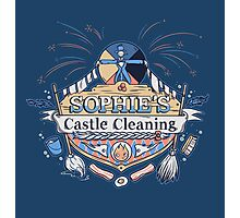 Sophie's Castle Cleaning Photographic Print