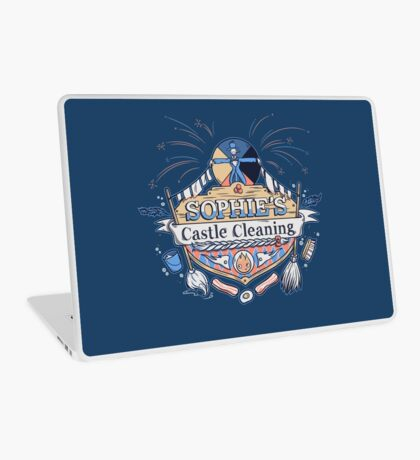 Sophie's Castle Cleaning Laptop Skin