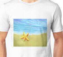 Starfish on the Beach Unisex T-Shirt