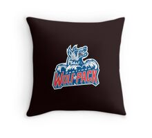 Hartford WolfPack Throw Pillow