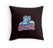 Hartford WolfPack Throw Pillow