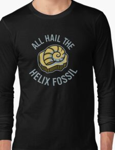 Hail the Helix Fossil Long Sleeve T-Shirt