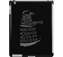 Dalek: Exterminate grey  iPad Case/Skin