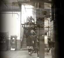New Yorkers underground  by ShellyKay