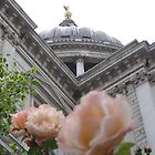 St. Paul's Cathedral, London England by Rimma Tverskoy