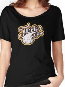 Thick & Sexy - 1970's Style (Distressed) Women's Relaxed Fit T-Shirt