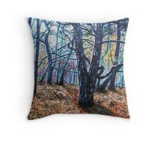 'Woods (A Clearing)' Throw Pillow
