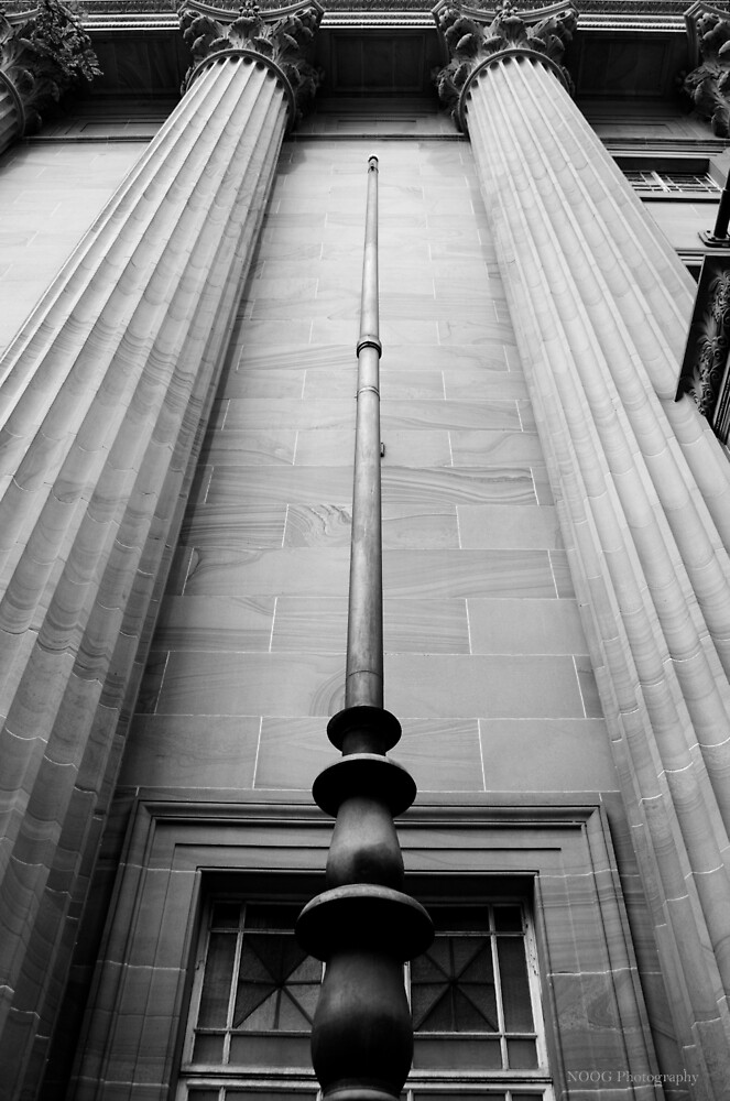 Masonic Temple B&W - Brisbane CBD by Jordan Miscamble