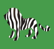 Zebra Lion: Wild Mash-Up Kids Clothes