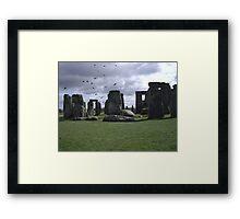Stonehenge, England Framed Print