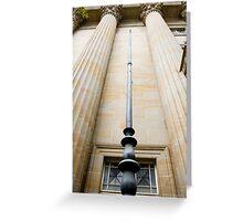 Masonic Temple - Brisbane CBD Greeting Card